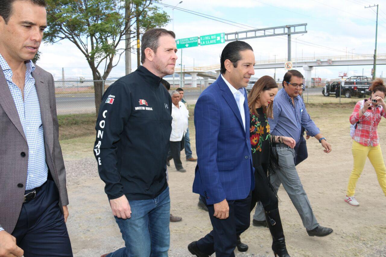 La infraestructura deportiva representa beneficios para la ciudadanía: Alfredo Castillo Cervantes