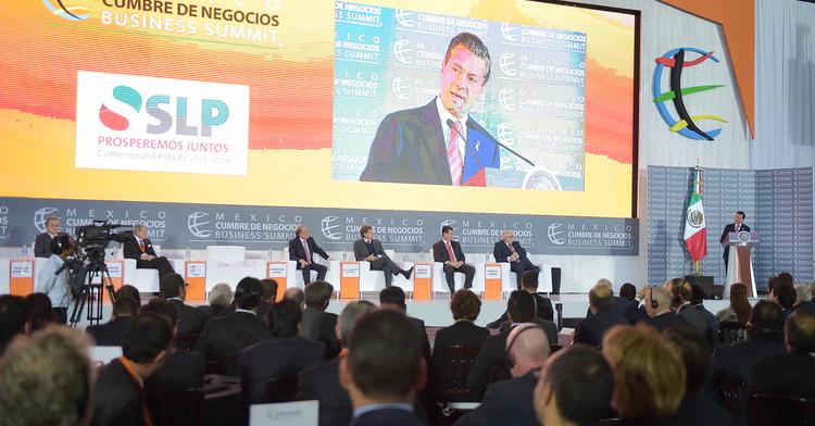 15 edición Cumbre de Negocios Definir las opciones para México
