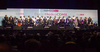 Presente el IPN en la conmemoración del Día del Médico CDMX