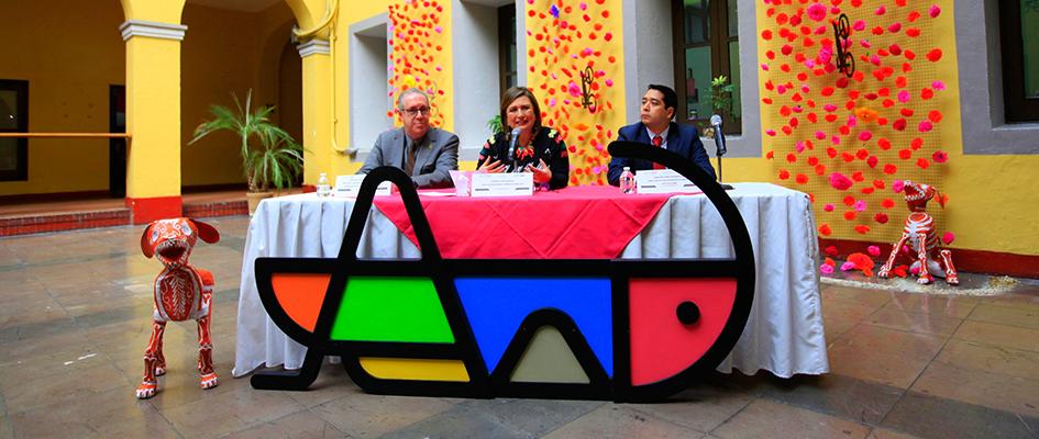 Celebra la DMH Día de Muertos en Panteón Civil de Dolores