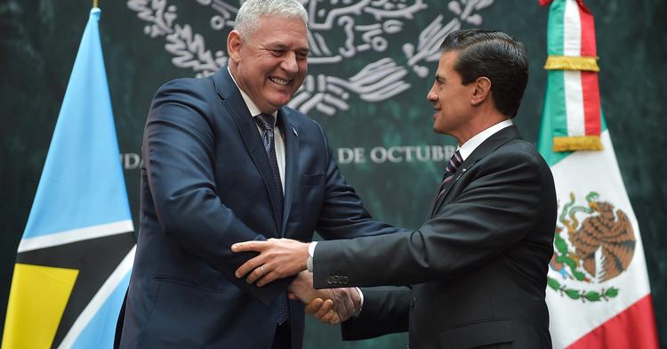Visita Oficial del Primer Ministro de Santa Lucía, Allen Chastanet