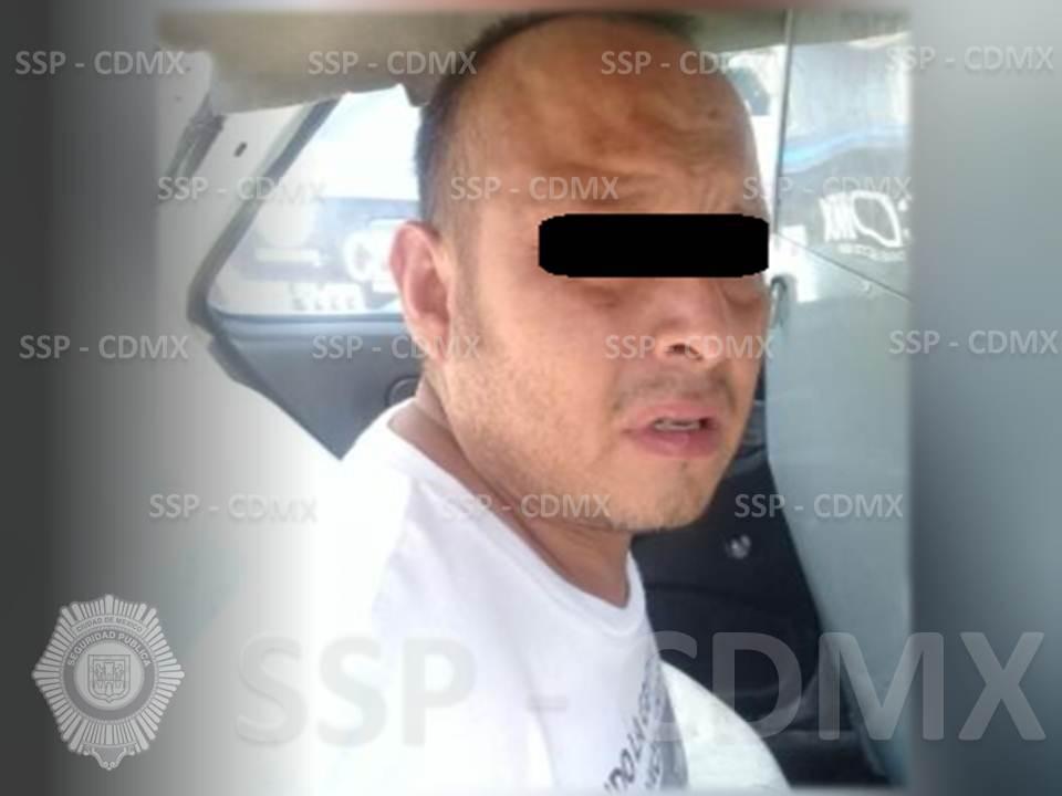 SSP-CDMX DETUVO A UN HOMBRE POR DELITOS CONTRA LA SALUD EN IZTAPALAPA