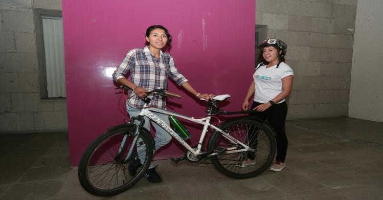 Politécnicas promueven recorridos por la ciudad en bicicleta