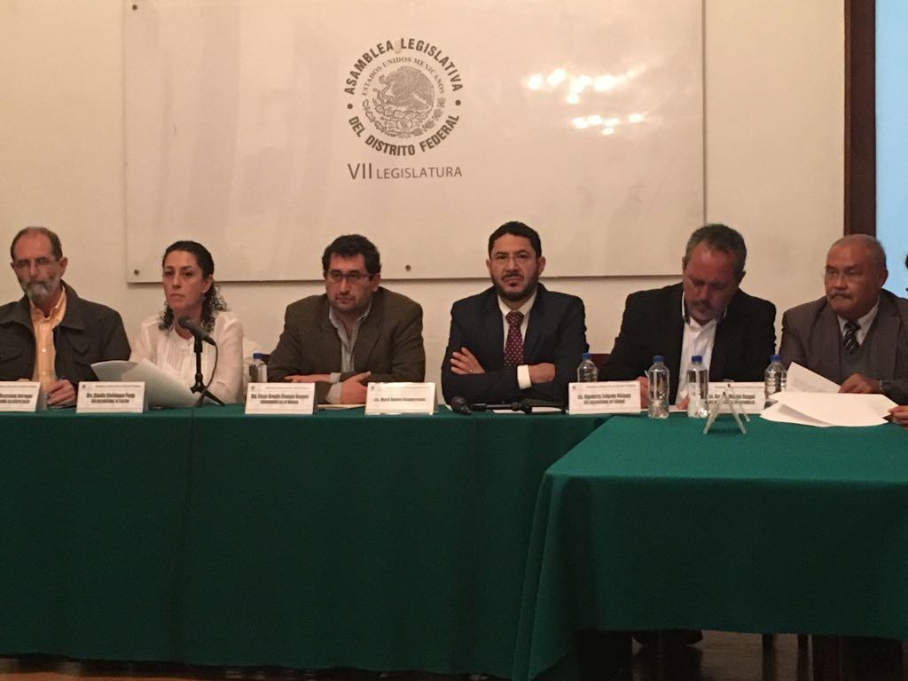 PRESENTAN JEFES DELEGACIONALES PROPUESTA DE PLAN DE RECONTRUCCIÓN INTEGRAL EN LA CDMX