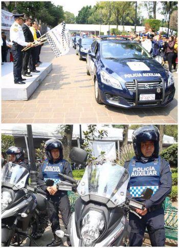 Coyoacán pone en circulación nuevas patrullas para la demarcación