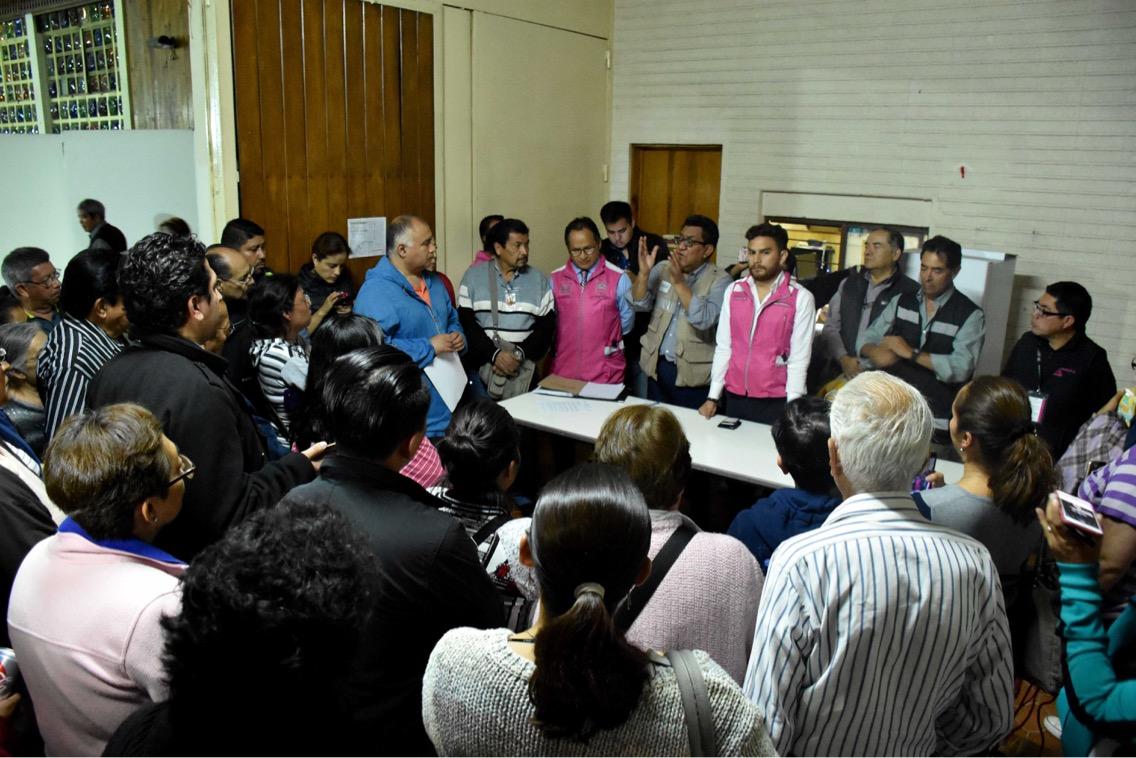 Reciben dictámenes estructurales vecinos de la Unidad Habitacional Tlalpan