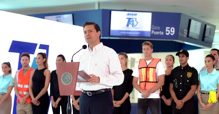 Inauguración de la Terminal 4 del Aeropuerto Internacional de Cancún