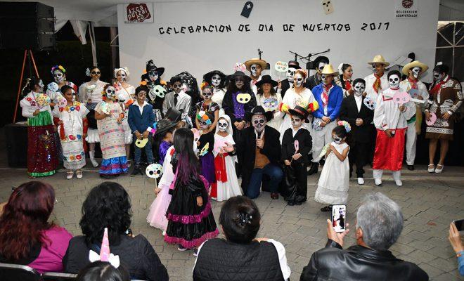 AZCAPOTZALCO FELICITA A LOS GANADORES DE CONCURSOS DE DÍA DE MUERTOS