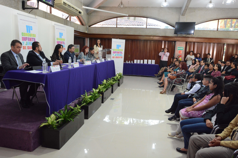 Premia IECM a ganadoras y ganadores del 11 Concurso Infantil y Juvenil de Cuento