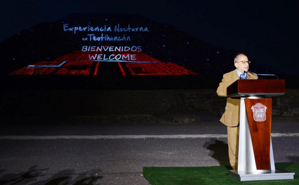INICIA LA TERCERA TEMPORADA DE LA EXPERIENCIA NOCTURNA EN TEOTIHUACAN