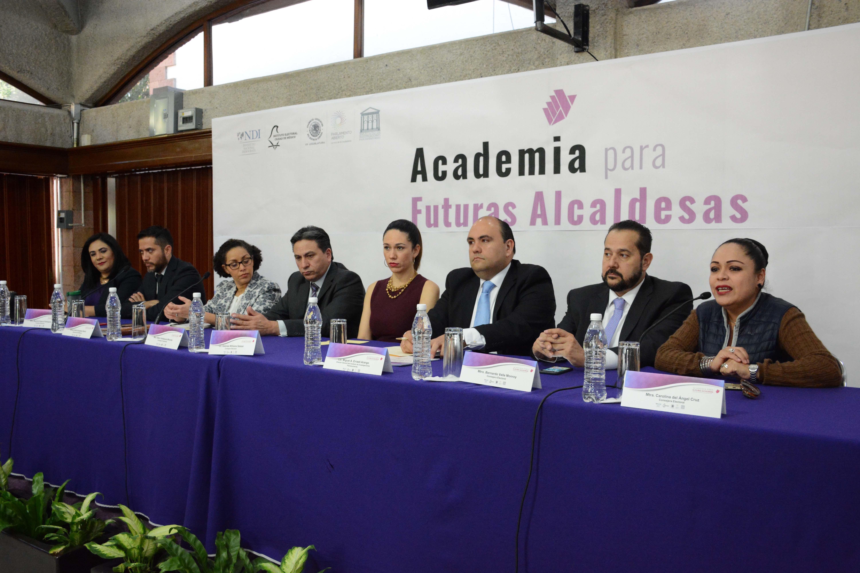 Inaugura IECM la Academia para Futuras Alcaldesas: Capacitándonos para ganar, vinculándonos para avanzar