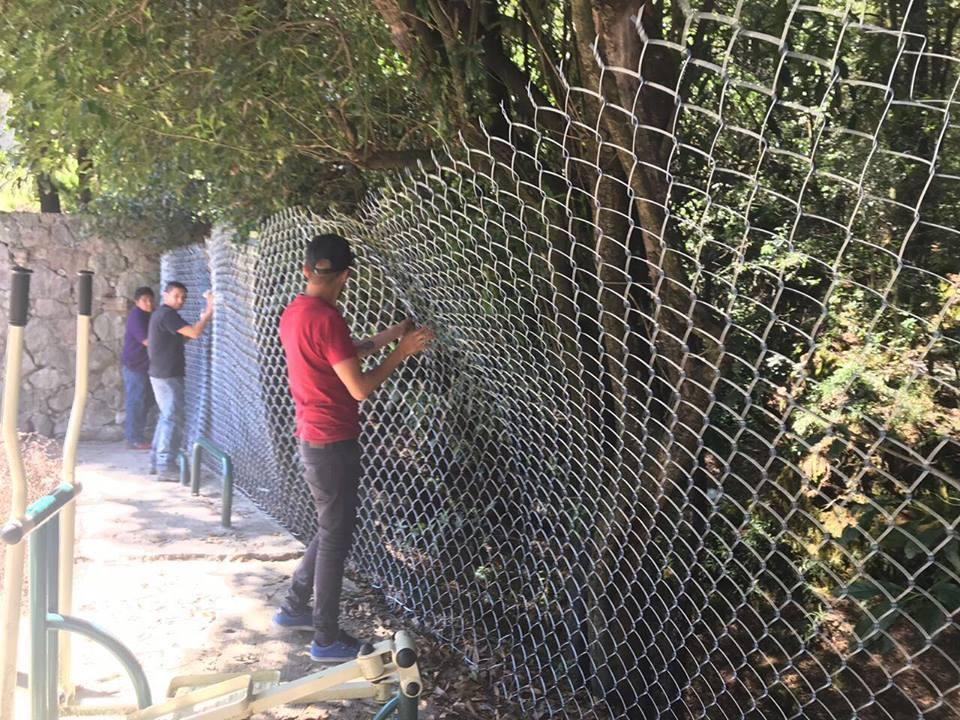 Trabajos de mantenimiento menor en escuelas de Cuajimalpa