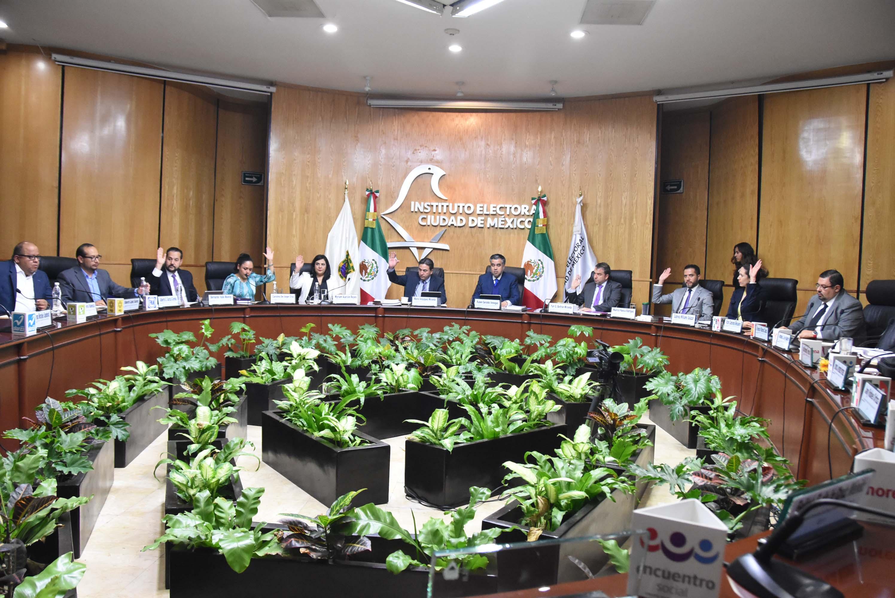 IECM aprueba opinión técnica para realizar conteos rápidos en Proceso Electoral Local 2017-2018