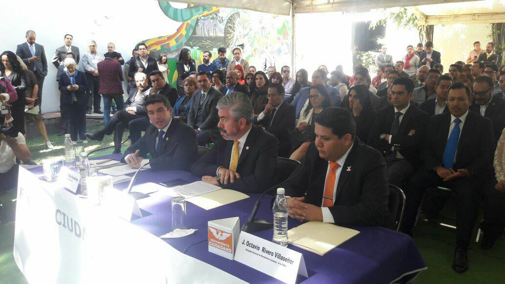 Formalizan el Frente Ciudadano en la CDMX