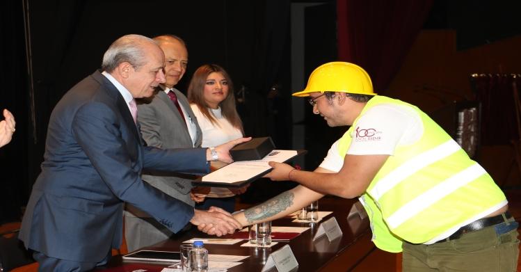 Rinde IPN homenaje a más de 500 brigadistas que participaron en los sismos de Septiembre