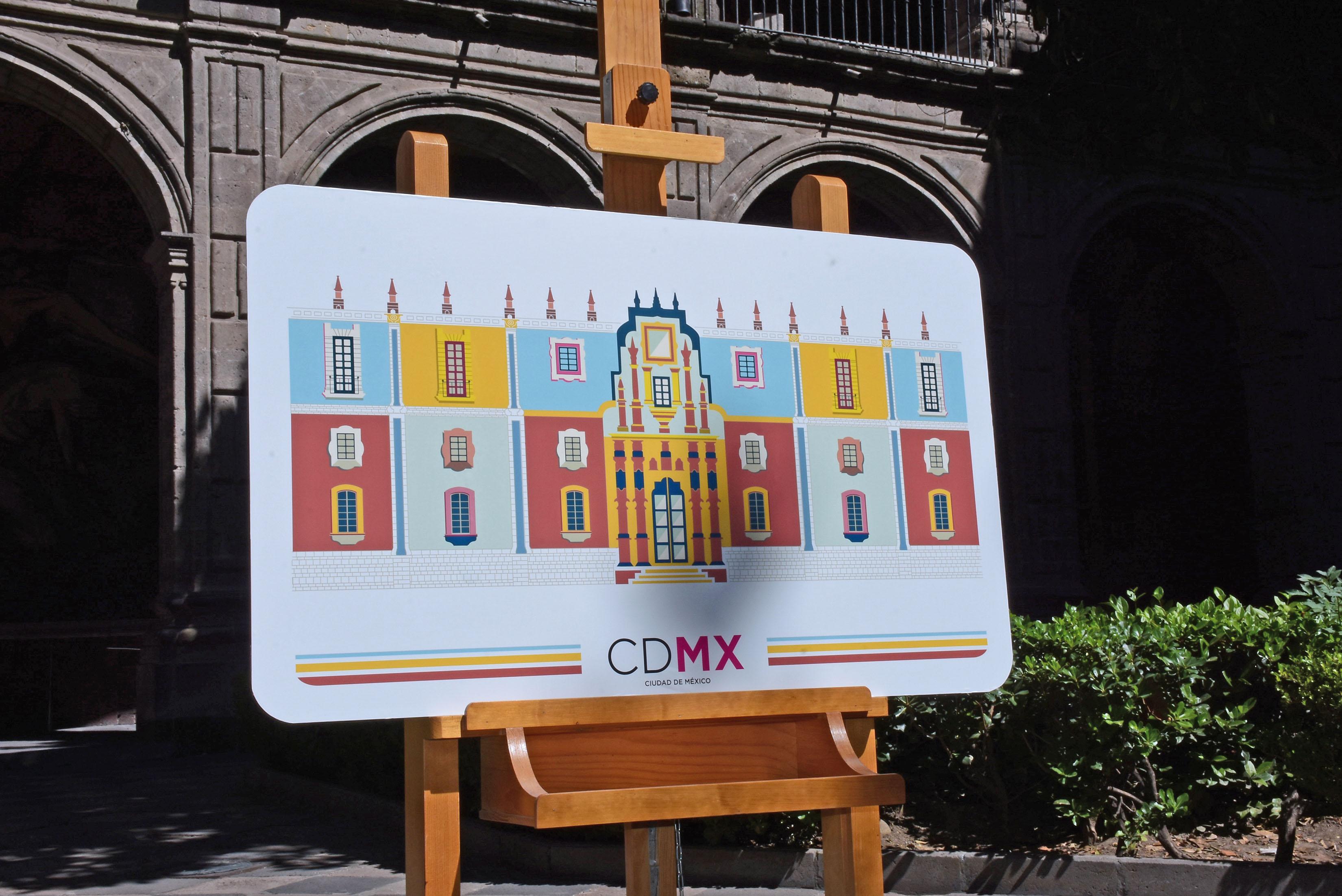 Celebran los 25 años del Antiguo Colegio de San Ildefonso con tarjeta conmemorativa del Metrobús