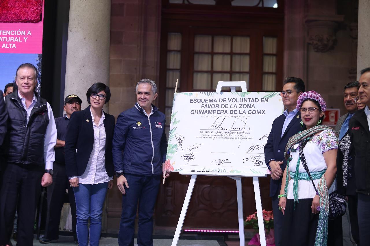 Destinará Gobierno de CDMX 98 mdp para rescatar y reactivar zona chinampera