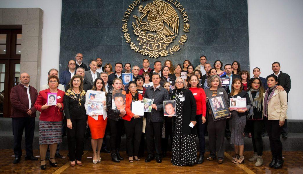 CEAV celebra promulgación de la Ley General en materia de desapariciones