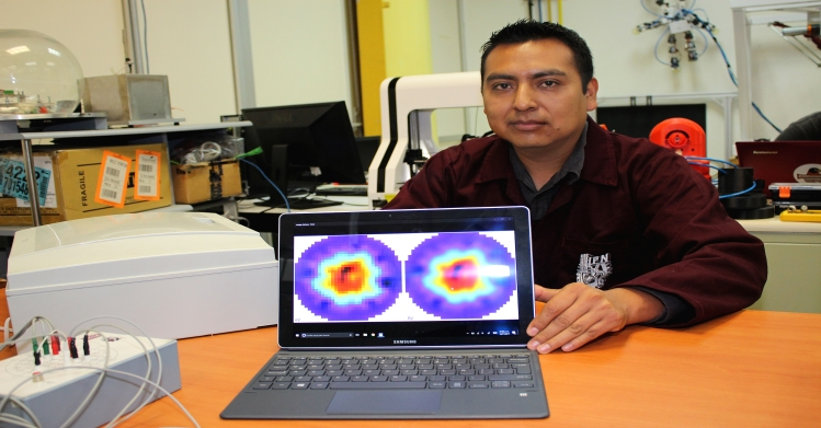 Prediagnóstico de osteoporosis con prototipo no invasivo hecho en el IPN