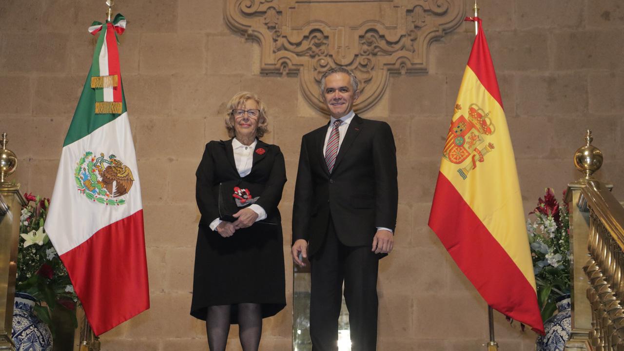 Fortalecen lazos de cooperación CDMX y Madrid