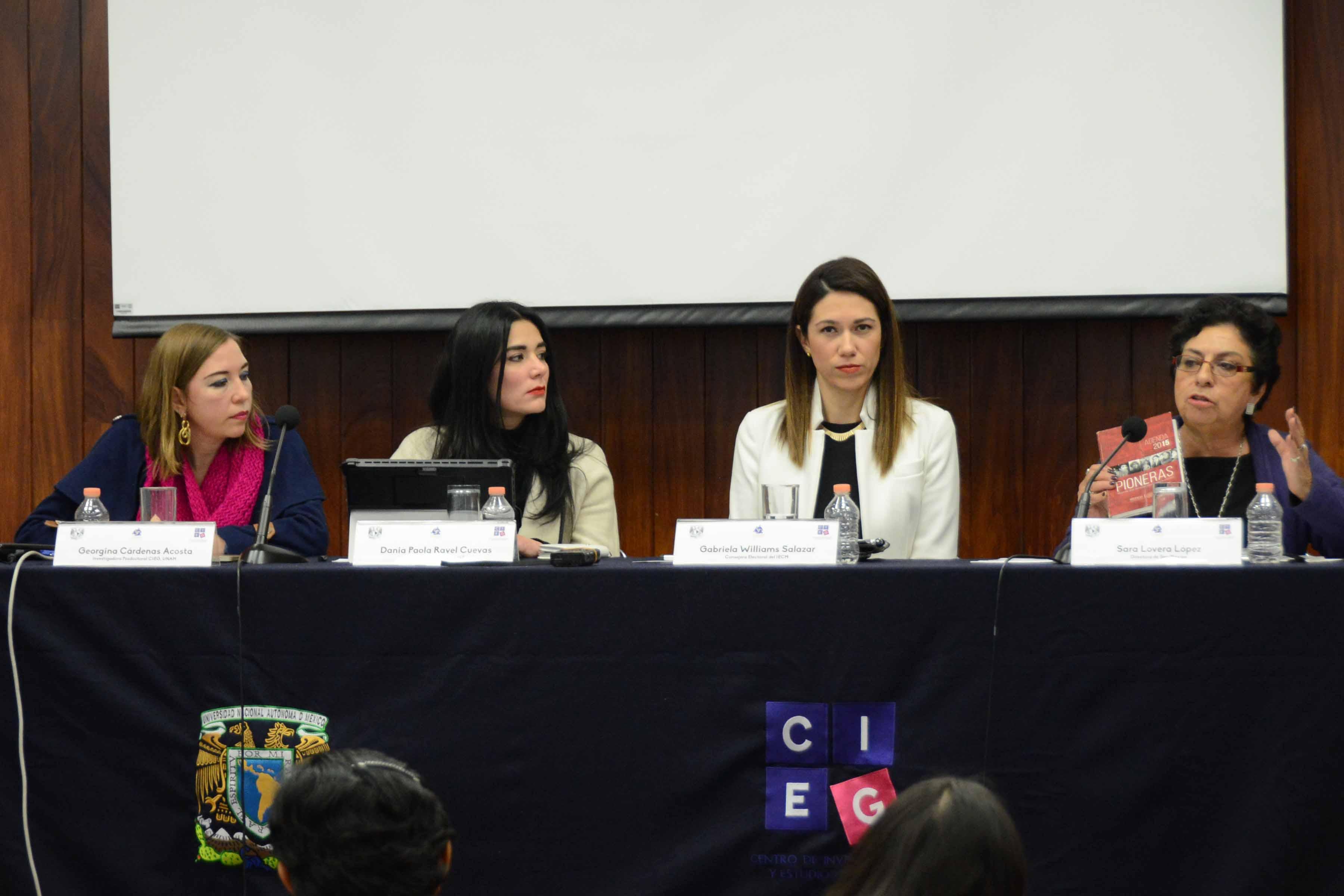 Necesario seguir trabajando para erradicar la violencia política en contra de mujeres: Gabriela Williams Salazar