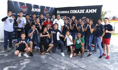 Llegaron a Boca del Río aspirantes de Tuxpan, Poza Rica y Papantla, para participar en Academia CONADE AMM