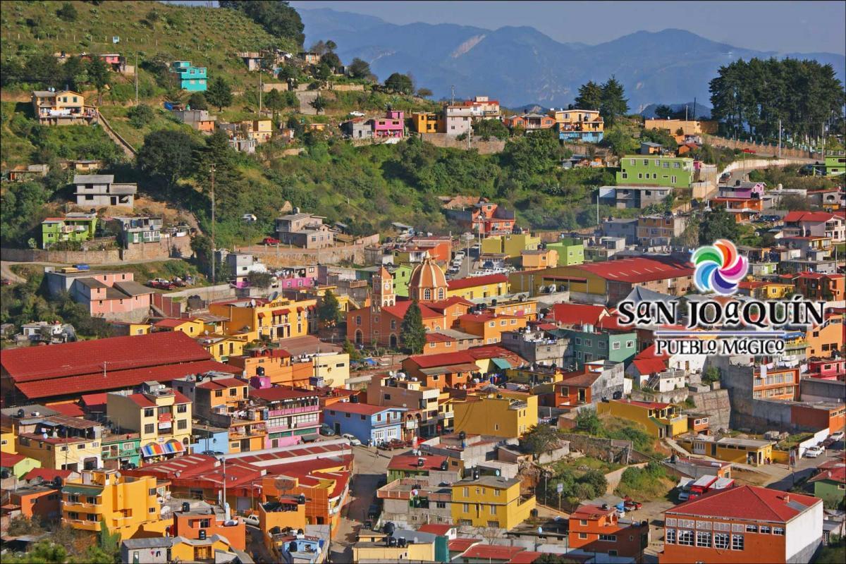 La Ruta de México, el Pueblo Mágico de San Joaquín, Querétaro