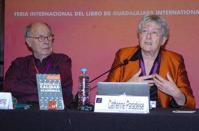 El Dr. Enrique Cabrero Mendoza presenta el libro En Busca de la calidad académica