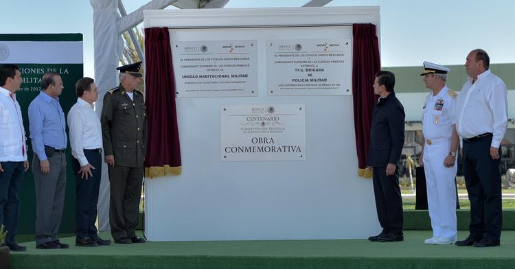 Inauguración de la 11 Brigada de Policía Militar y su Unidad Habitacional
