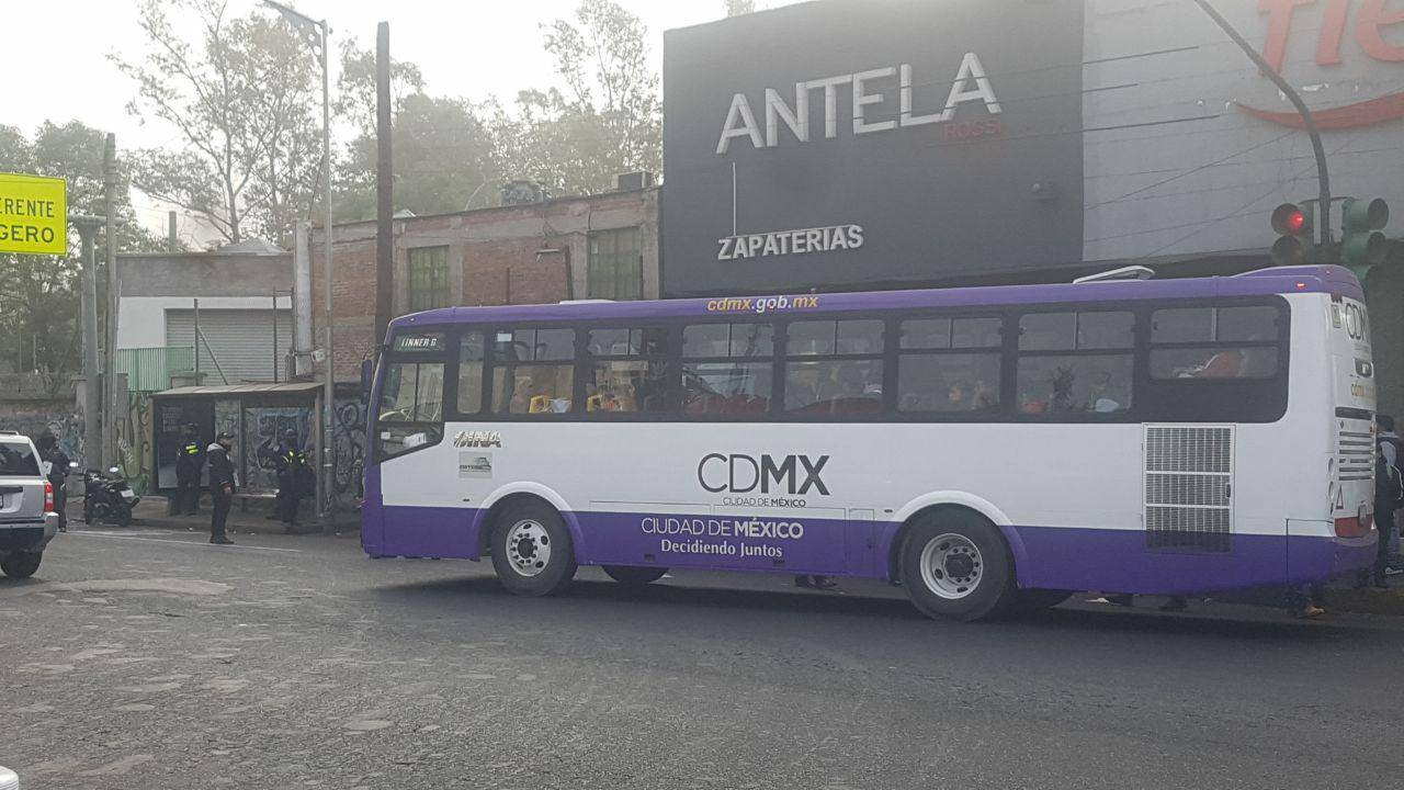 Semovi realiza operativo en corredor Tlalpan-Xochimilco