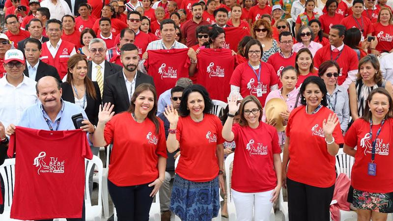 Rocío de Moreno se suma a la campaña Tu bebé sin VIH, hazte la prueba