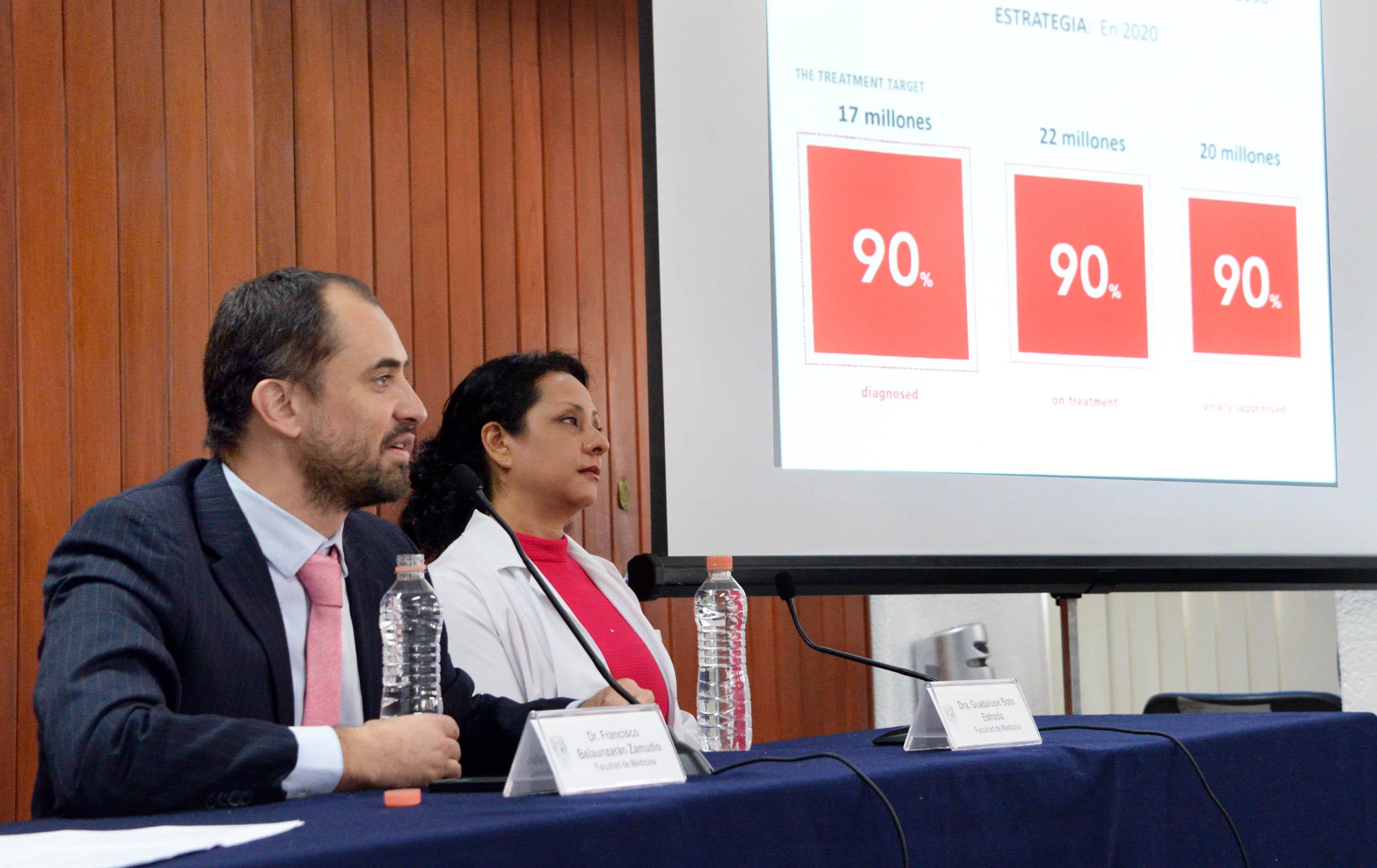 AUNQUE LA EPIDEMIA DEL VIH VA A LA BAJA EN EL MUNDO, EN MÉXICO EL NÚMERO DE MUERTES ES CONSTANTE