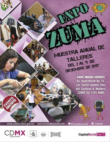 Estudiantes del Faro Indios Verdes presentarán su producción artística en Expo Zuma 2017