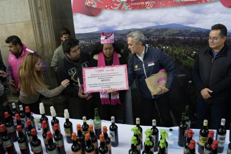 Apoya CDMX a productores agrícolas afectados por sismo