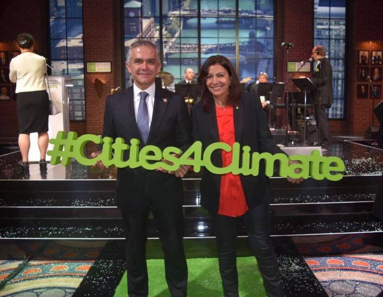 Premia la red de ciudades C40 a la CDMX por su programa de Acción Climática