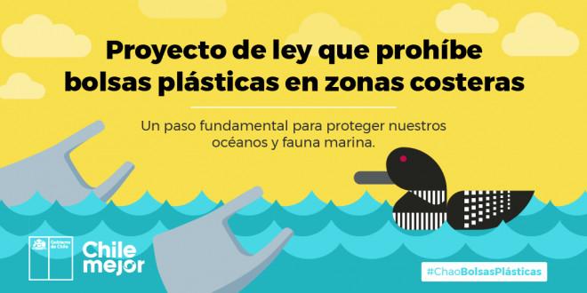 Proyecto de Ley que prohíbe bolsas plásticas en zonas costeras es inédito en América Latina