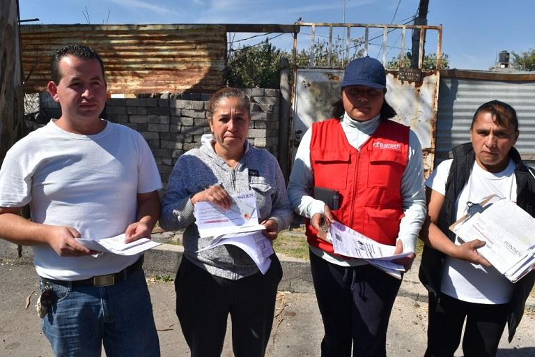 ENTREGAN APOYOS DEL FONDEN EN COLONIAS AFECTADAS POR EL SISMO EN TLÁHUAC