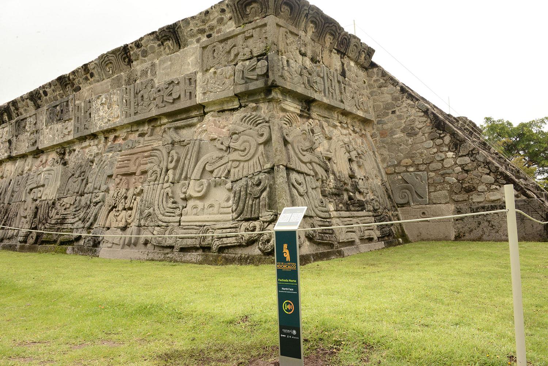 Zona Arqueológica y Museo de Sitio de Xochicalco cuentan con cedulario auditivo