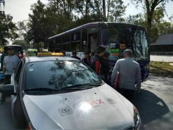 La SEMOVI informa que 4 unidades fueron sancionadas durante operativo de supervisión al transporte público