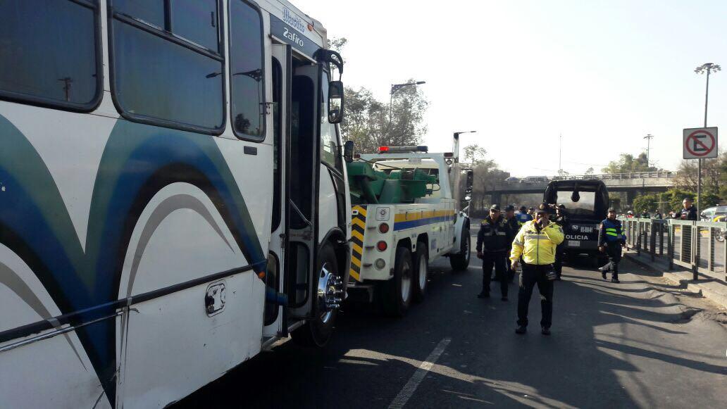 SEMOVI sanciona más de 150 unidades de transporte público en CETRAM Indios Verdes