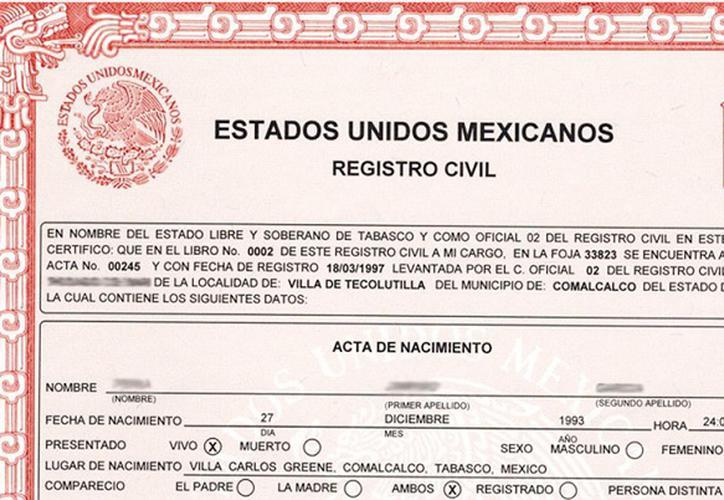 Corrige Registro Civil de CDMX 41 mil 661 actas