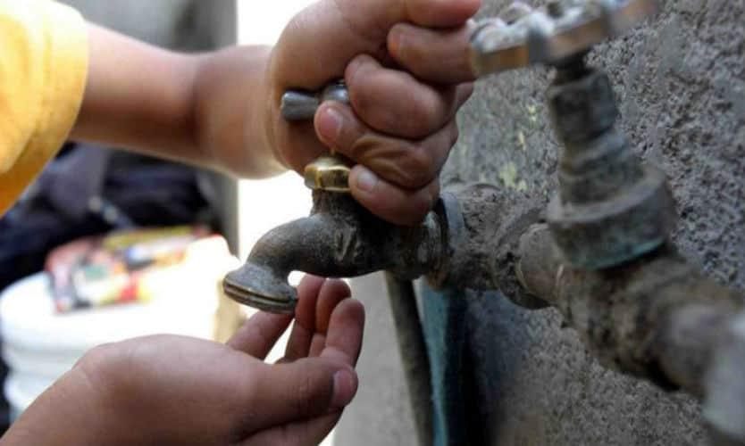 Reducen suministro de agua a CDMX en 50% por mantenimiento en sistema Cutzamala