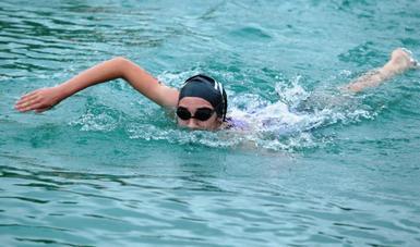 La natación, un de las disciplinas más completas: Jorge Loredo