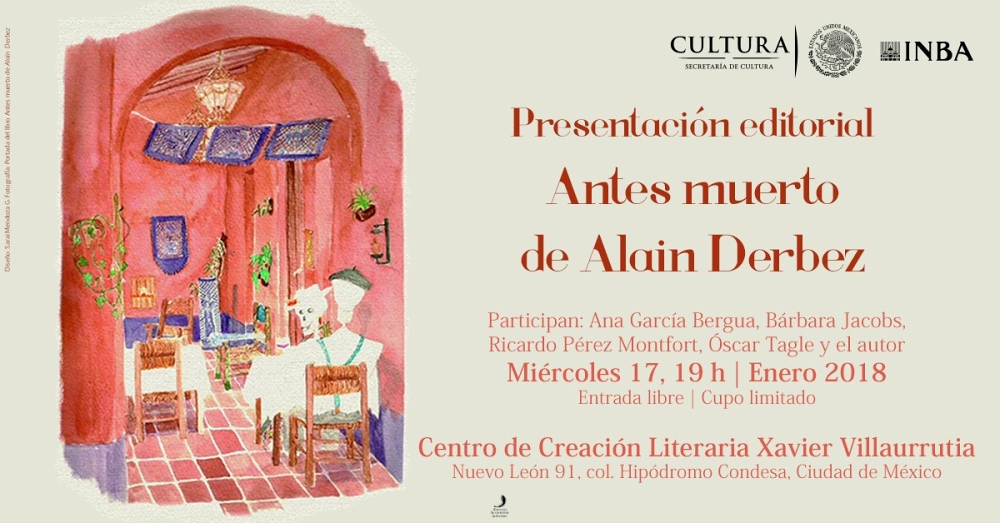 Alaín Derbez presentará nueva novela que retoma aspectos de la afamada activista Emma Goldman
