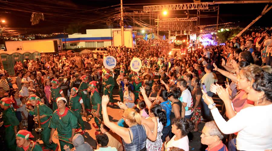 Hondureños disfrutaron de la Navidad Catracha; este sábado es la clausura con desfile de carrozas