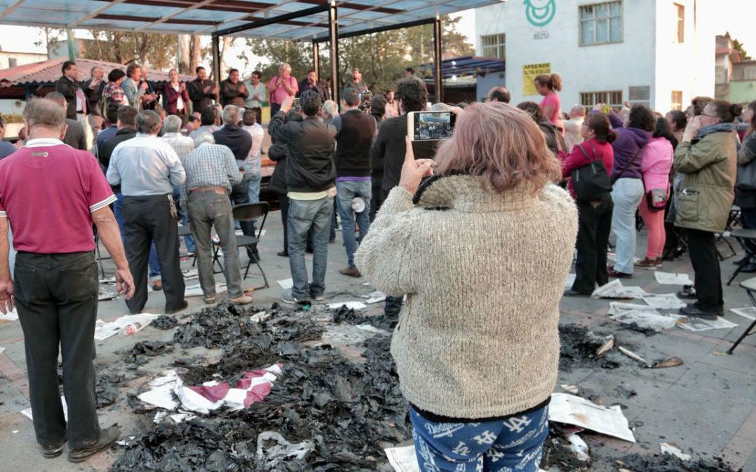 Investiga la PGJCDMX los hechos de violencia entre simpatizantes de dos partidos políticos