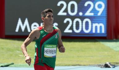 Mejorar su marca, reto de 2018 para José Carlos Herrera
