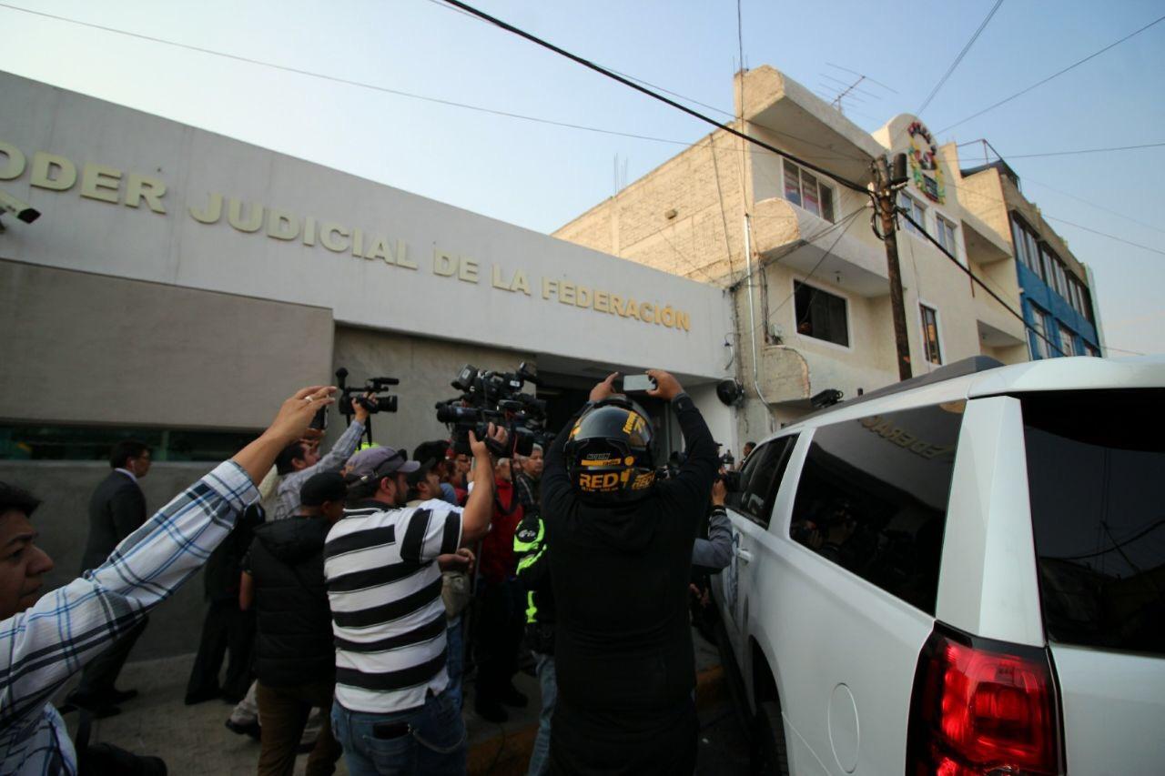 LLEGA BORGE A ENFRENTAR JUSTICIA EN MÉXICO