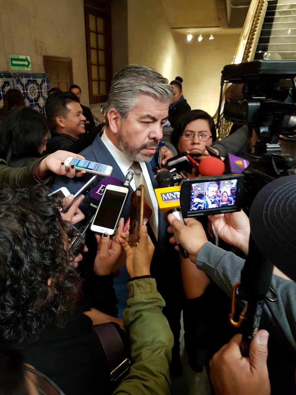 Entrevista a Raúl Flores Coy después de la firma del pacto de civilidad en la CDMX.