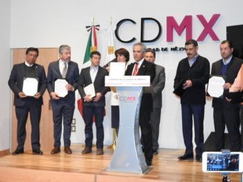 PARTIDOS DE LA CDMX FIRMAN PACTO DE CIVILIDAD; MORENA LO RECHAZA CON PES Y PT